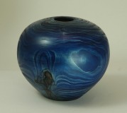 Blue Hollow Form